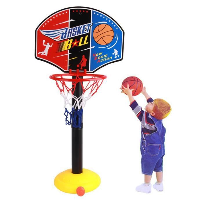ensemble de jouets de basket-ball avec toilettes dr/ôles Jeu de ballon de basket de toilette Slam Dunk 3 balles et tapis de toilette cerceau de basket-ball jeu de d/écompression pour salle de bain