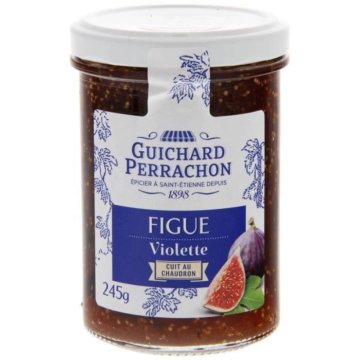 CONFITURE - MARMELADE GUICHARD PERRACHON Confiture de Figues & Violettes