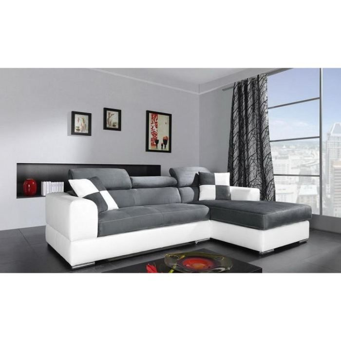 canap d 39 angle 4 places n to angle droit achat vente. Black Bedroom Furniture Sets. Home Design Ideas