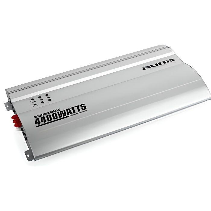 AMPLIFICATEUR AUTO auna Silverhammer - Ampli auto bridgeable 4 canaux
