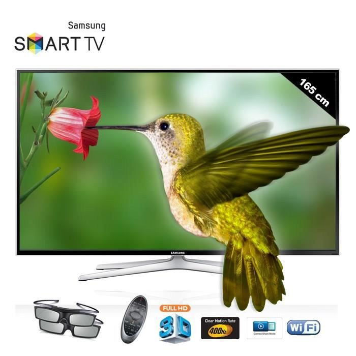 samsung ue65f6400 smart tv 3d 165 cm t l viseur led. Black Bedroom Furniture Sets. Home Design Ideas