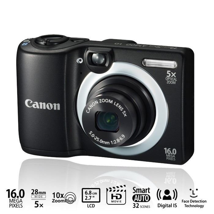 canon a1400 compact noir 16 mp zoom 5x achat vente appareil photo compact cdiscount. Black Bedroom Furniture Sets. Home Design Ideas