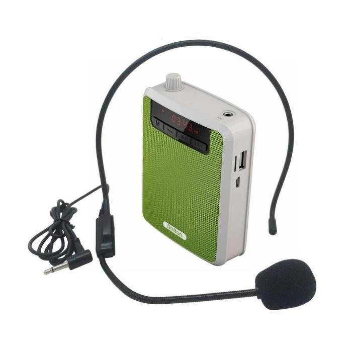 HAUT-PARLEUR - MICRO EFUTURE Haut-parleur mini-amplificateur de voix po