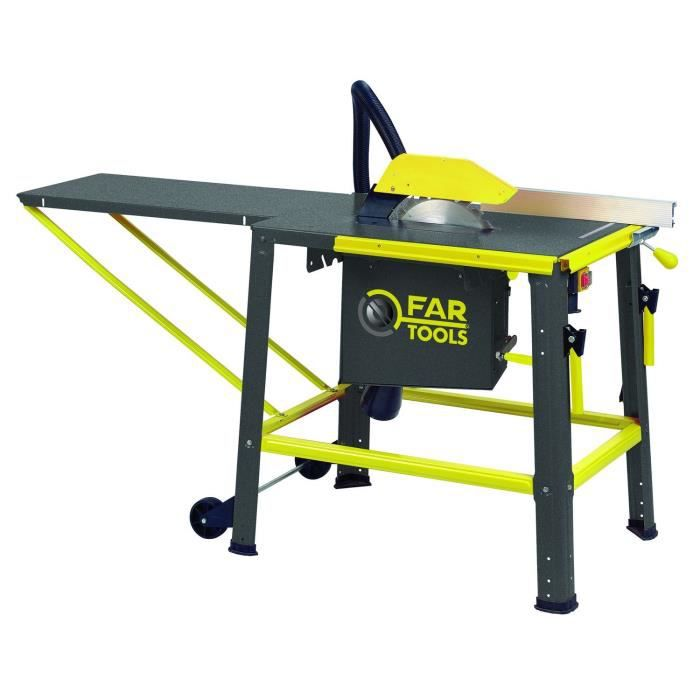 Fartools Scie Sur Table 1800w 315mm 40 Dents Achat   Scie Sur Table Maison .