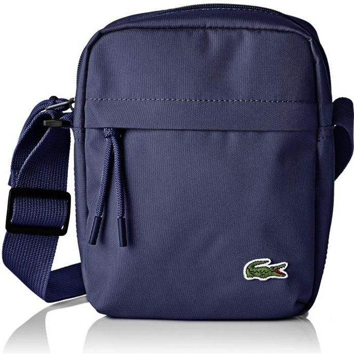new product special for shoe united states Lacoste Neocroc, Sac bandouliere Homme, Bleu (Peacoat), 6.5x21x16 cm (W x H  x L)