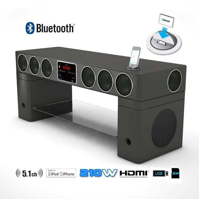 soundvision sv400 meuble home cin ma meuble hifi int gr e avis et prix pas cher les soldes. Black Bedroom Furniture Sets. Home Design Ideas