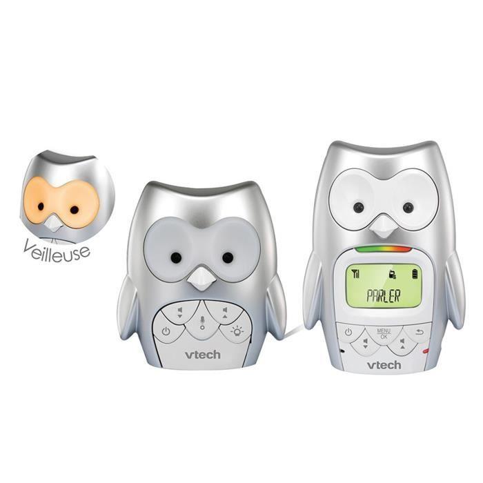 ÉCOUTE BÉBÉ VTECH - Babyphone Hibou Family - BM2300