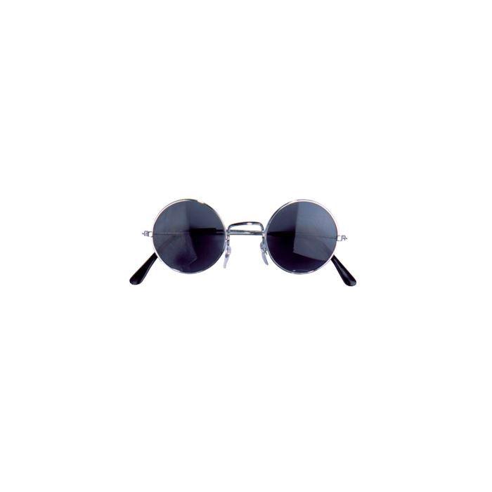 Lennon Hippie Lunettes Gris Nouveau-Accessoires Accessoire Carnaval