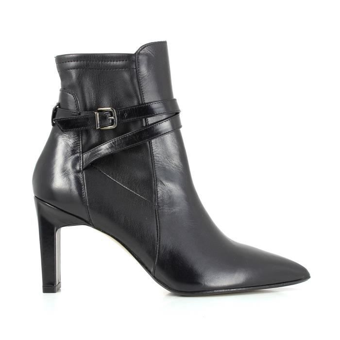 Brook - Bottines en cuir - noir