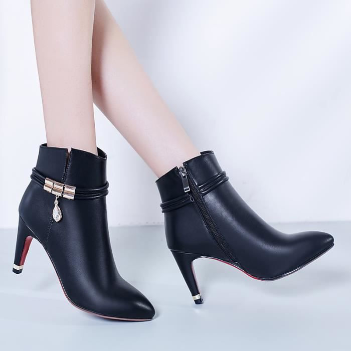 2016 Spring Angleterre cuir plat simples bottes... CSGju