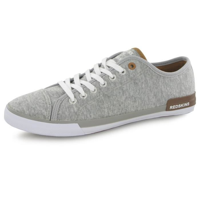 Redskins Frag gris, baskets mode homme