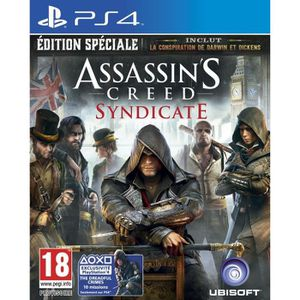 JEU PS4 Assassin's Creed Syndicate Edition Spéciale Jeu PS