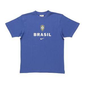 T-SHIRT NIKE T-shirt Brasil Hero Junior - Bleu