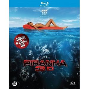 BLU-RAY FILM Blu-Ray Piranha 3D