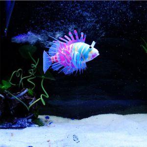 AQUARIUM Les poissons d'aquarium artificiels silicone Lionf