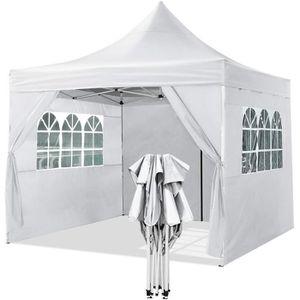 TONNELLE - BARNUM Tente de réception 3 x 3 m Tissu d'Oxford 3 hauteu