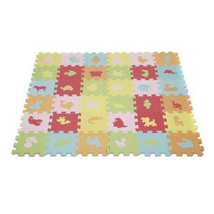 TAPIS PUZZLE KEKE-108 Pièces Tapis de Puzzle pour Enfant Tapis