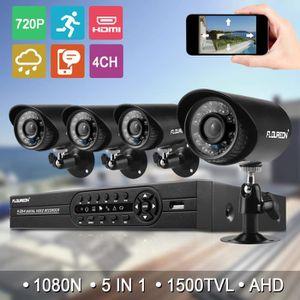 CAMÉRA DE SURVEILLANCE Caméra de Surveillance Floureon 1x 4CH DVR 1080N H