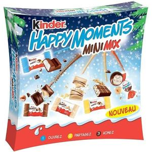 CONFISERIE DE CHOCOLAT Kinder Happy Moments 242g