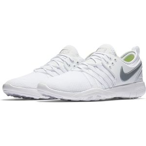 designer fashion eb213 0cdc0 BASKET NIKE baskets femme wmns free tr 7 blanches, blanch