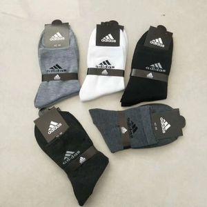 CHAUSSETTES 5 paires Chaussettes Hommes Adidas sport Coton loi
