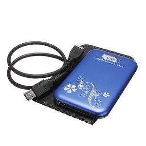 DISQUE DUR EXTERNE 2.5 Pouces USB 3.0 Boîtier Externe Housse Etui Cas