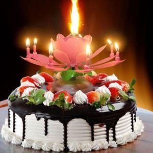21 ans Garçon Gâteau d/'anniversaire bougie Bleu Numéro 21 Gâteau Décoration se