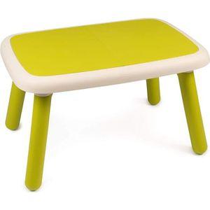 BUREAU BÉBÉ - ENFANT SMOBY - Kid Table Intérieure / Extérieure Verte
