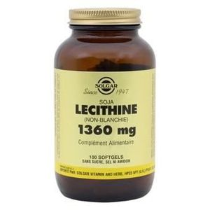 CHOLESTÉROL - TENSION Lecithine 1360 mg - 100 capsules