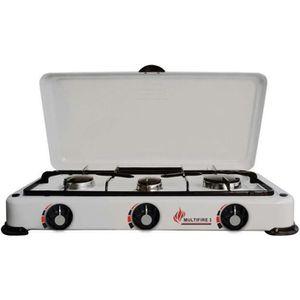 RÉCHAUD Réchaud avec 3 brûleurs - Multifire3 - Blanc 8,5cm