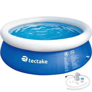 PISCINE TECTAKE Piscine Hors Sol Autoportante Gonflable Ro
