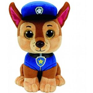 PELUCHE Ty 41208 - Pat' Patrouille - Peluche - Chase - Tai