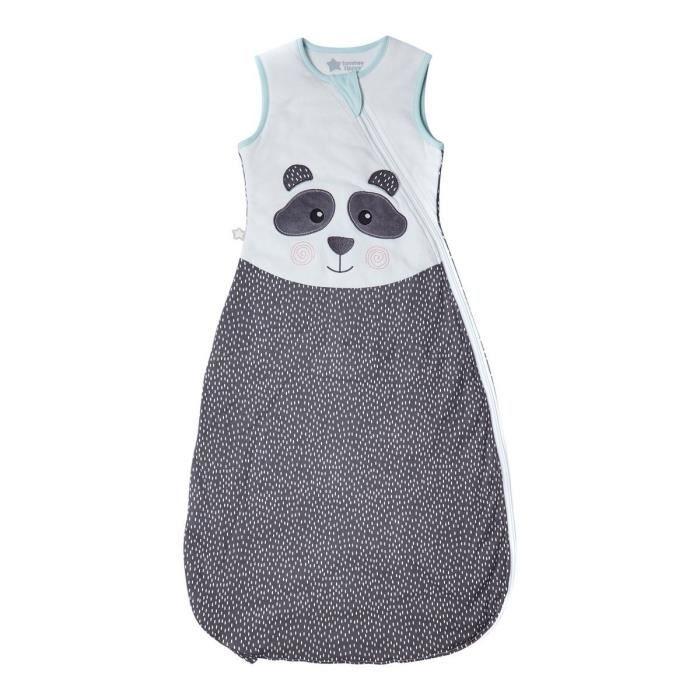 TOMMEE TIPPEE Gigoteuse - 18 à 36 mois - Tissu chaud automne hiver - Pieds dedans - Motif Pippo le Panda