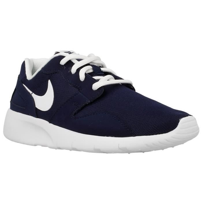 nike baskets kaishi gs chaussures enfant gar on marine et blanc achat vente basket soldes. Black Bedroom Furniture Sets. Home Design Ideas