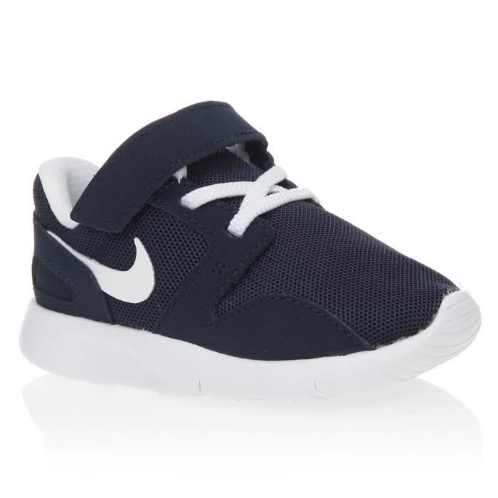 nike baskets kaishi td chaussures b b gar on noir et blanc achat vente basket cdiscount. Black Bedroom Furniture Sets. Home Design Ideas