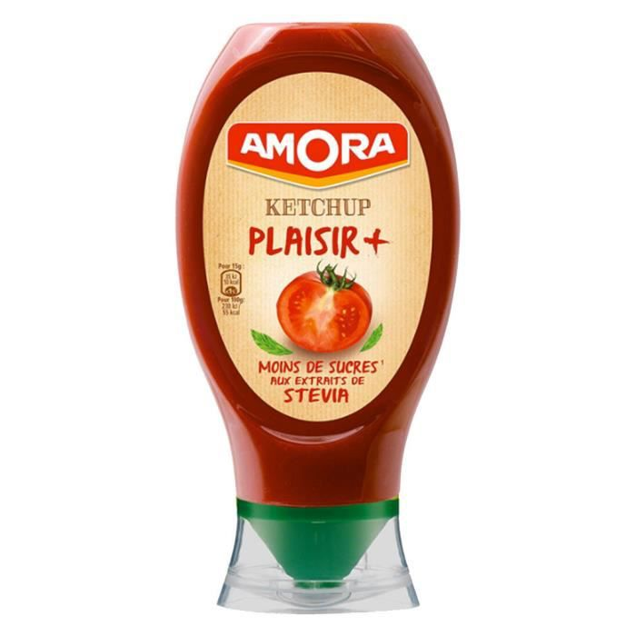 Amora - Amora Ketchup Plaisir Plus (lot de 3)
