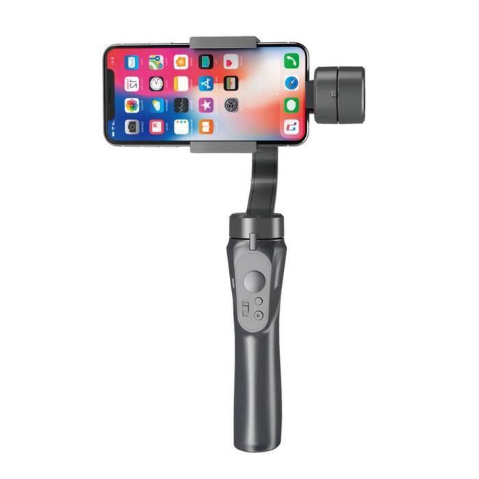 Stabilisateur de cardan Smartphone de poche à 3 axes pour stabilisateur de suivi automatique visuel H4