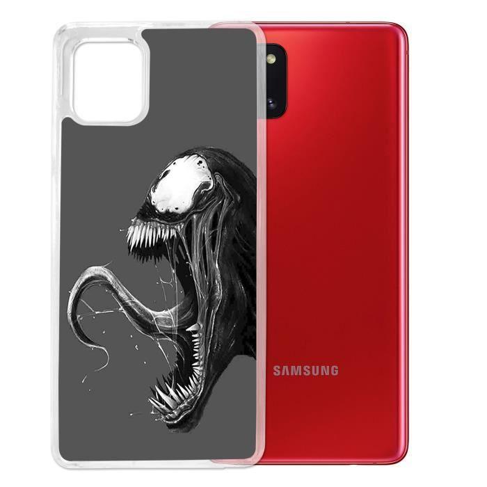 Coque pour Samsung Galaxy A51 - Venom. Accessoire pour telephone, coque rigide de protection