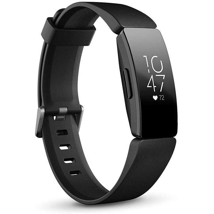 Fitbit Inspire et Inspire HR Bracelets d'activité forme, sport & bien-être : jusqu'à 5 jours d'autonomie, étanche, suivi auto. activ