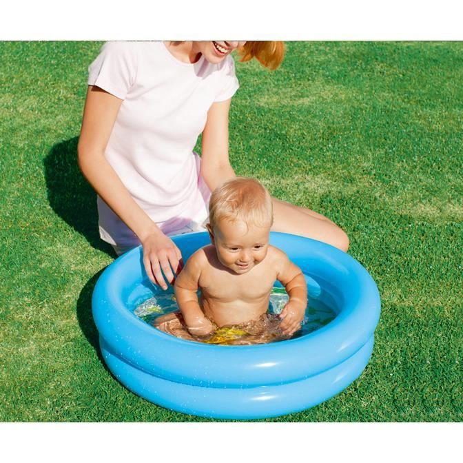 Piscine ronde gonflable enfant bébé Jouet à la maison baignoire gonflable bébé Piscine enfant petit 61*15cm