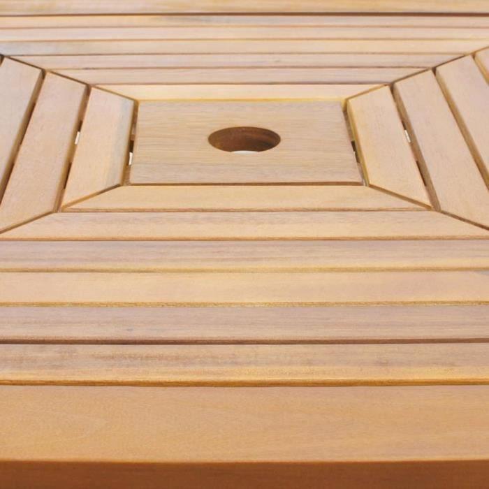 Magnifique Table de bar d'exterieur Bois d'acacia