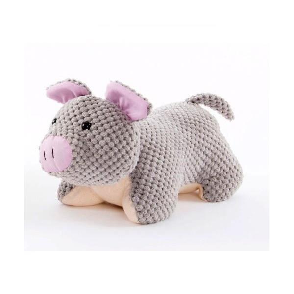 Cale Porte - bloque porte figurine Cochon gris