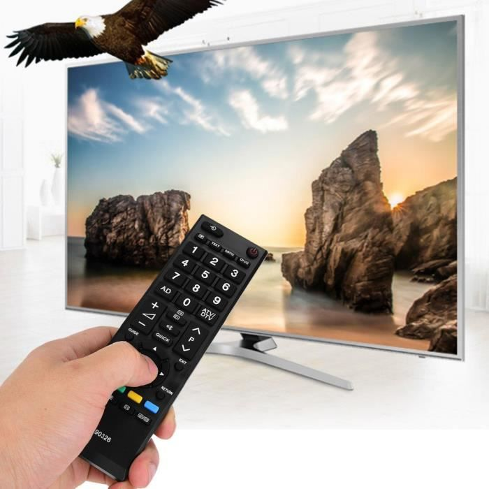 CT-90326 LCD TV 3D Télécommande Pour Toshiba LCD LED Smart Téléviseur -ABI
