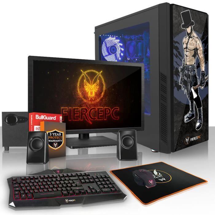 Fierce Zombie Pc Gamer de Bureau Amd Athlon X4 950 4X3.8Ghz Cpu, 8Go Ram, Gtx 1050 2Go, 1To Hdd 886976