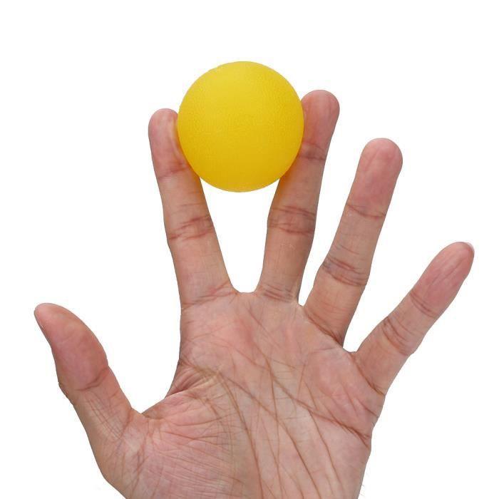 Balle De Massage Boule Thérapie Main Paume pour soulager le stress de l'exercice de la force des doigts -TUN