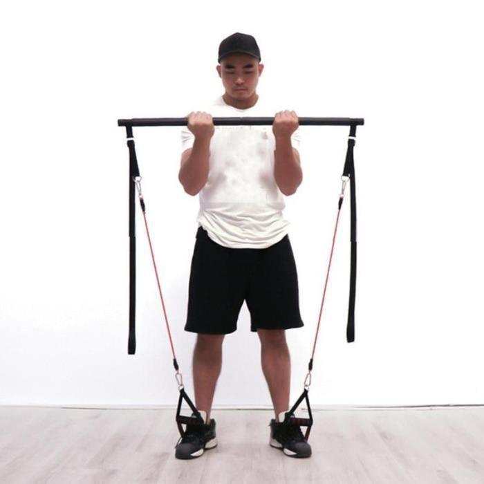 Barre de Pilates répandrai Portable résistance, barre de remise en forme Avec équipement d'entrainement