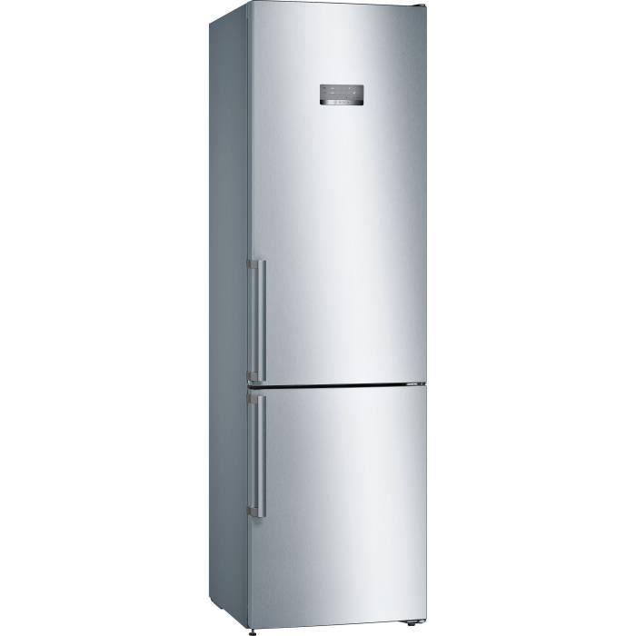 bosch - réfrigérateur combiné 60cm 366l a++ nofrost inox - kgn397leq