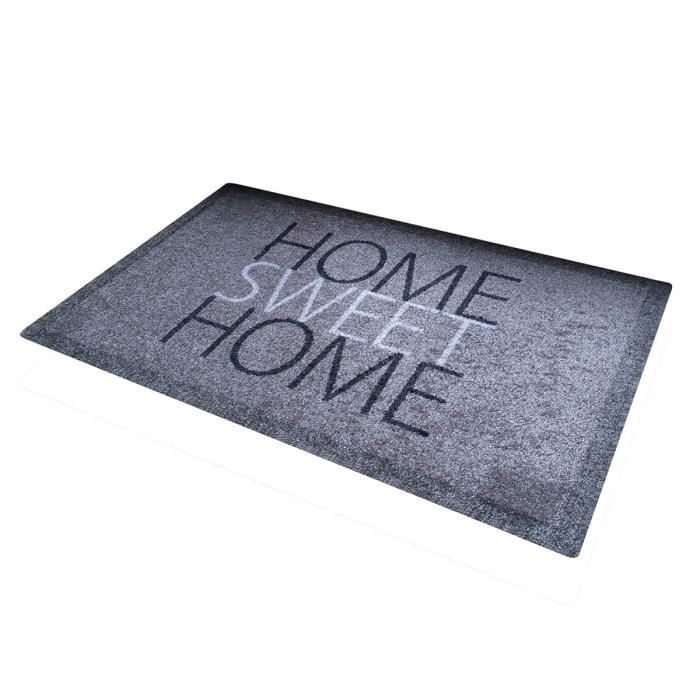 Tapis d'entrée Home Sweet Home Multicolore