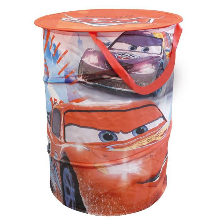 Fun House Disney Cars sac a linge pop up (ice racing) pour enfant