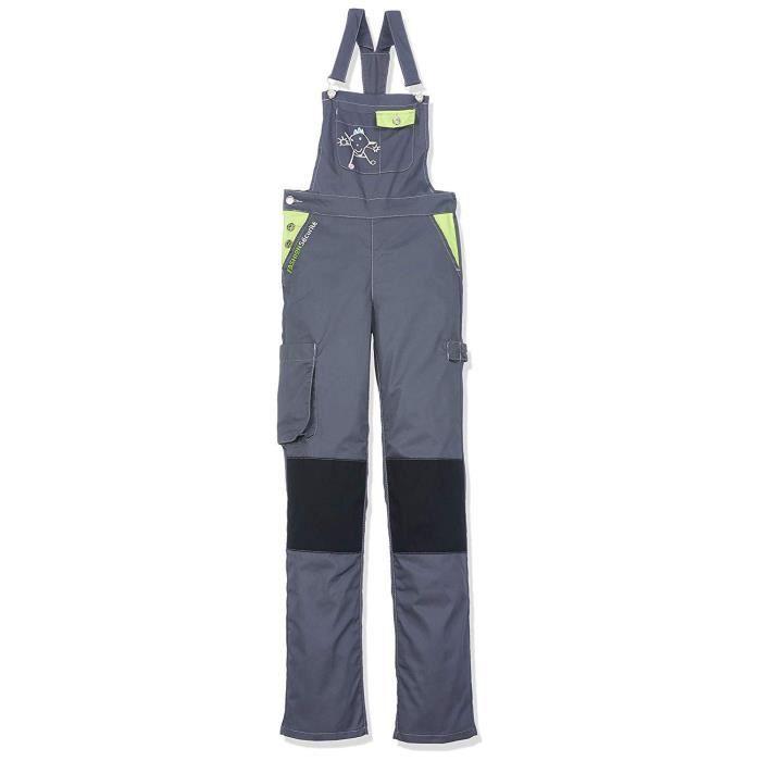 Fashion Sécurité FASHION SECURITE - PEP's - Salopette de Travail - Femme - Gris (Gris/citron) - Taille: XS (34) - 660140